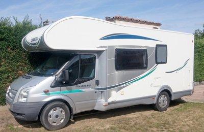 Camping-car Capucine Chausson Flash 03 Gf en location à Fonsorbes
