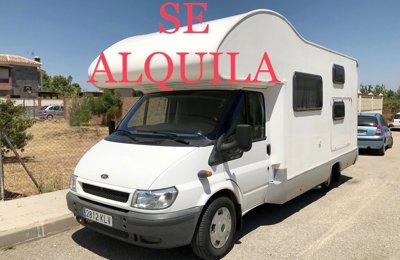 RV Coachbuilt Fiat Ducato For rent in Alhaurín De La Torre