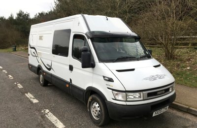 Converted van Iveco Daily For hire in Flitwick