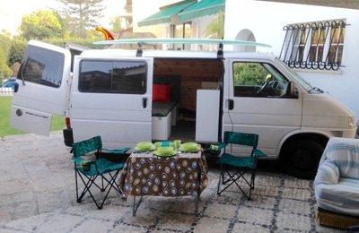 Campervan Vw T4 em aluguer em Estoril