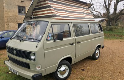 Converted van Volkswagen T25 For rent in Whitstable