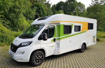 RV Low profile Fiat Carado T449 For rent in Dresden