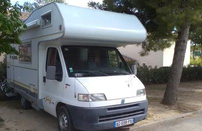 Camping-car Capucine Hymer 544 en location à Plan De Cuques