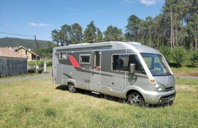 RV 'A' class Burstner Elegance I 710 For rent in Santiago De Compostela