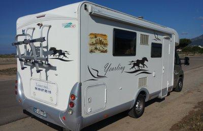 Camping-car Profilé Mac Louis Yearling 72 en location à Ajaccio