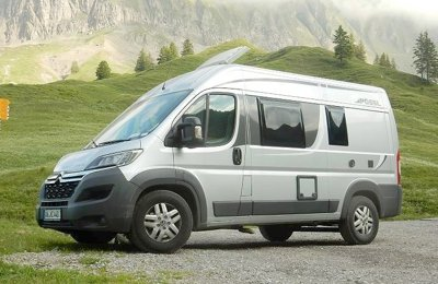 Converted van Pössl Roadcamp R For rent in Bonn