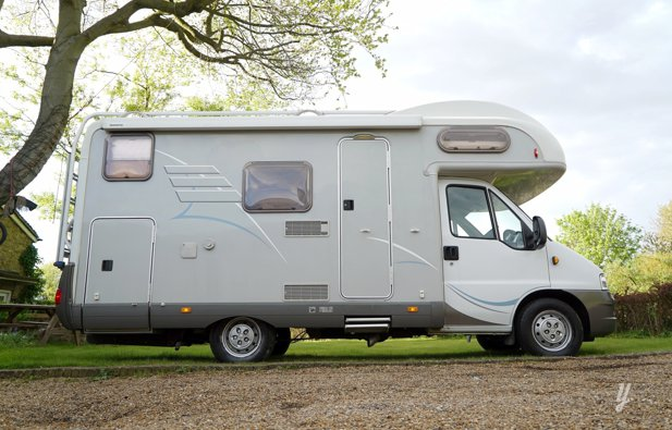 Coachbuilt RV Hymer C524 rental