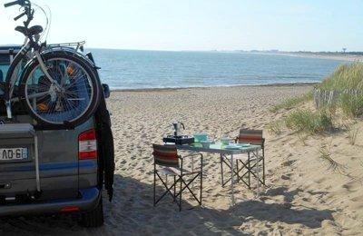 Van Volkswagen T5 Multivan en location à La Chataigneraie