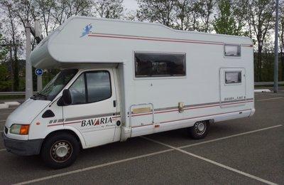 RV Coachbuilt Bavaria A665 For rent in L'etrat