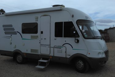 location camping car int gral caen hymer fiat ducato 2003 yescapa. Black Bedroom Furniture Sets. Home Design Ideas