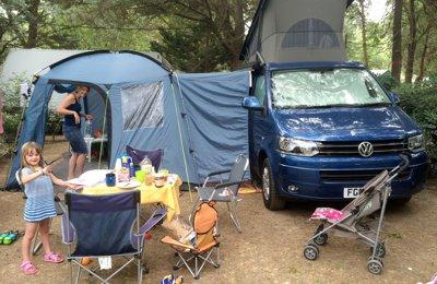 Campervan Vw T5 Californi For rent in Glasgow