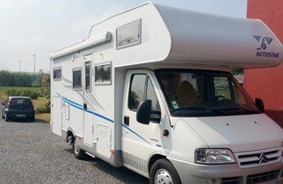 Camping-car Capucine Citroën Autostar en location à Lille
