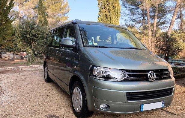 Location du Van Volkswagen California Confort