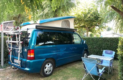 Camper Mercedes Marco Polo For rent in Barcelona