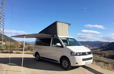 Camper Volkswagen California Beach en lloguer a Olot