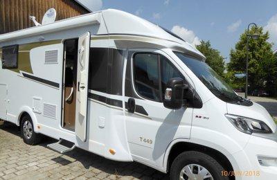 Wohnmobil Teilintegriert Carado T449 zu vermieten in Puchheim