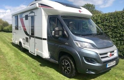 Motorhome Low profile Burstner Ixeo For hire in Glasgow