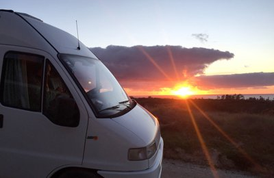 Converted van Fiat Ducato Maxi For rent in Pinhal Do Cabedal