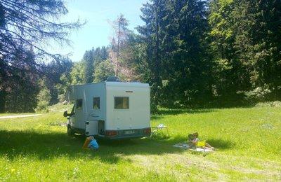 Camper Mansardato Fiat Ducato Challenger 133 condiviso a Bozel