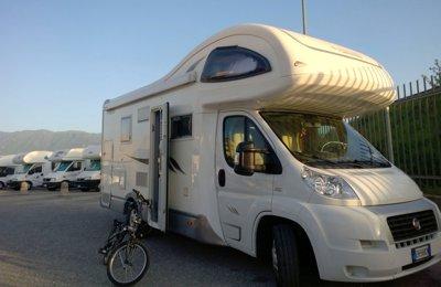 Camper Mansardato Mobilvetta Kea M75 condiviso a Casagiove