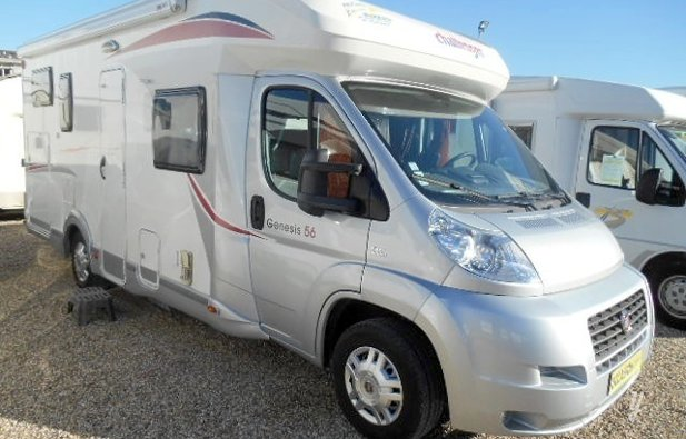 Low profile RV Challenger Genesis 56 rental