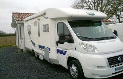 Camping-car Profilé Mc Louis Tandy 650 en location à Latrille