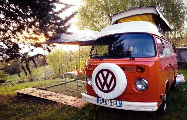 Vermietung von Campervan Volkswagen T2