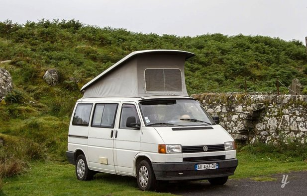Picture of Converted van Volkswagen T4 California