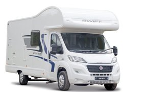 93aa0bd253 Motorhome Coachbuilt Swift Escape 696 For hire in Irvine