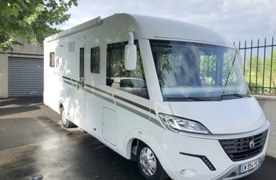 RV 'A' class Fiât Bavaria For rent in Trets