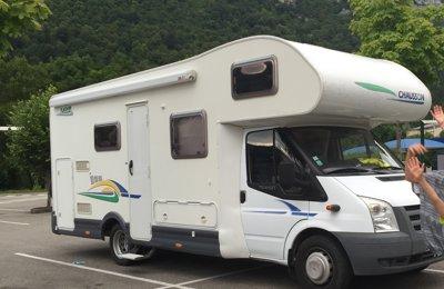 Camping-car Capucine Chausson Flash 9 en location à Saint Hilaire De Loulay