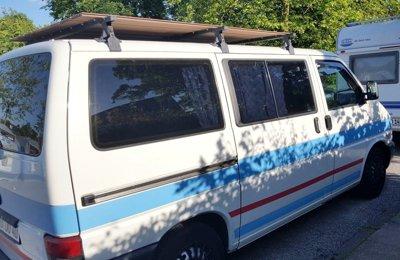 Campingbus Vw T4 Caravelle zu vermieten in Stralsund