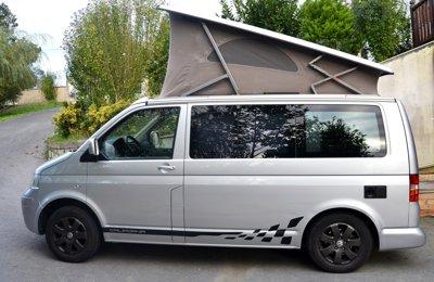 Furgoneta camper Volkswagen California 2.5 Tdi En alquiler en Belako