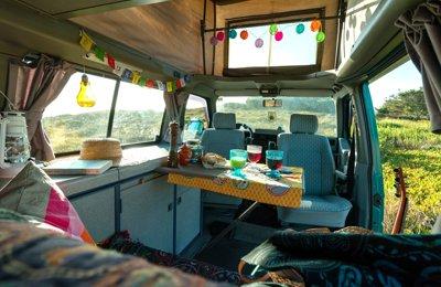 Campervan Volkswagen Transporter T4 Westfalia em aluguer em Lisboa