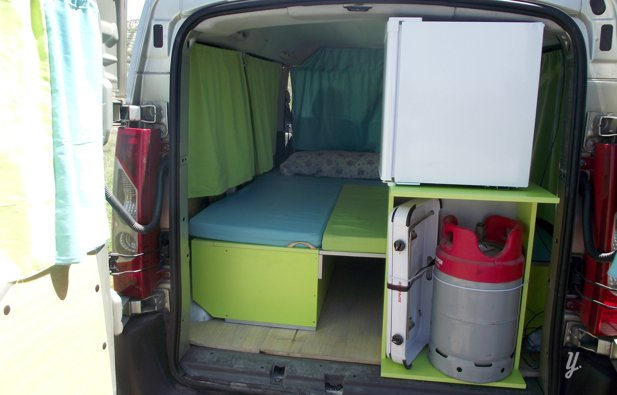 alquiler camper cordoba citroen jumpy 2007 yescapa. Black Bedroom Furniture Sets. Home Design Ideas