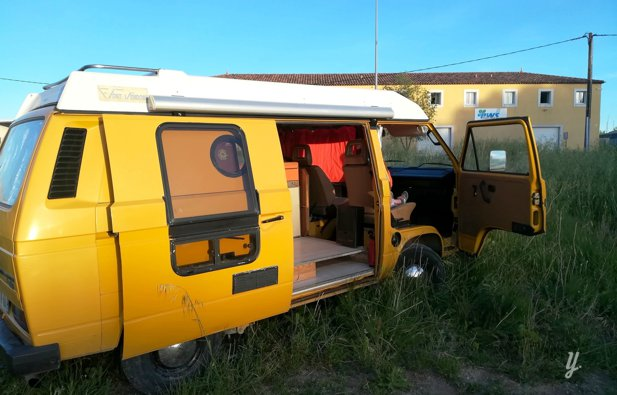 Location van lan on provence volkswagen t3 font - Location camping car salon de provence ...