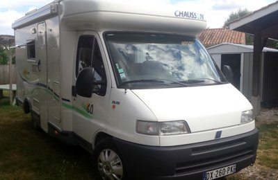 RV Low profile Chausson Welcome 60 For rent in Gardonne