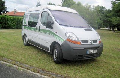 Fourgon aménagé Font Vendome Trafic Renault en location à Saint-Jean-D'illac