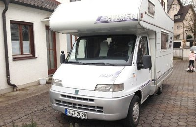 RV Coachbuilt Hymer Ducato For rent in München