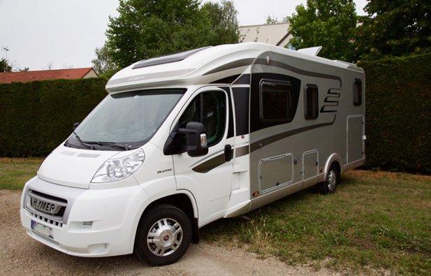 Photo du Camping-car Profilé Hymer Tramp Cl 678