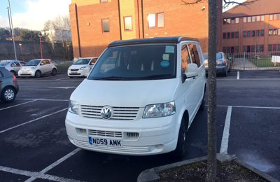 Converted van Volkswagen Transporter For rent in Bristol