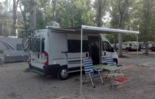 alquiler furgoneta camper - albacete - adria 600 spt family 2017