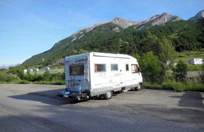Camper Motorhome Renault Hymer Br 599 condiviso a Le Monêtier-Les-Bains