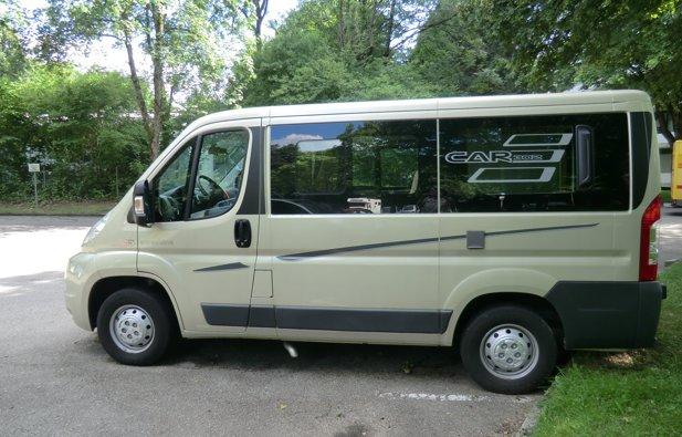 Converted van Hymer Car 302 rental