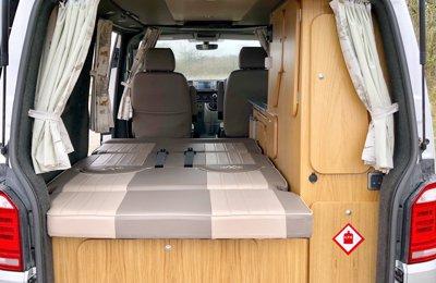 Converted van rental | Yescapa