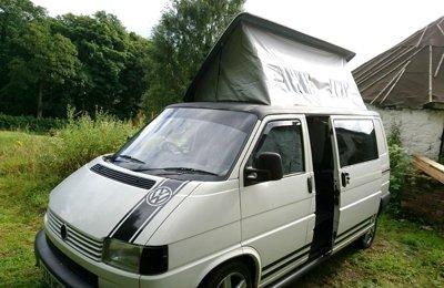 Campervan Volkswagen T4 For rent in Stirling
