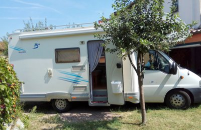 RV Coachbuilt Elnagh Fiat Ducato For rent in Valfenera