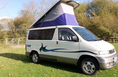 Converted van Mazda Bongo For rent in Littlethorpe