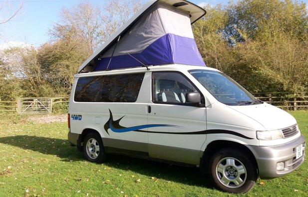 Hire Converted Van Littlethorpe Mazda Bongo 1996 Yescapa