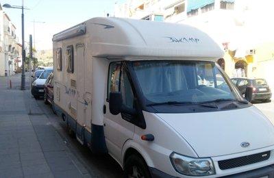 Autocaravana Perfilada Ford Transit Blue Camp En alquiler en Cenes De La Vega